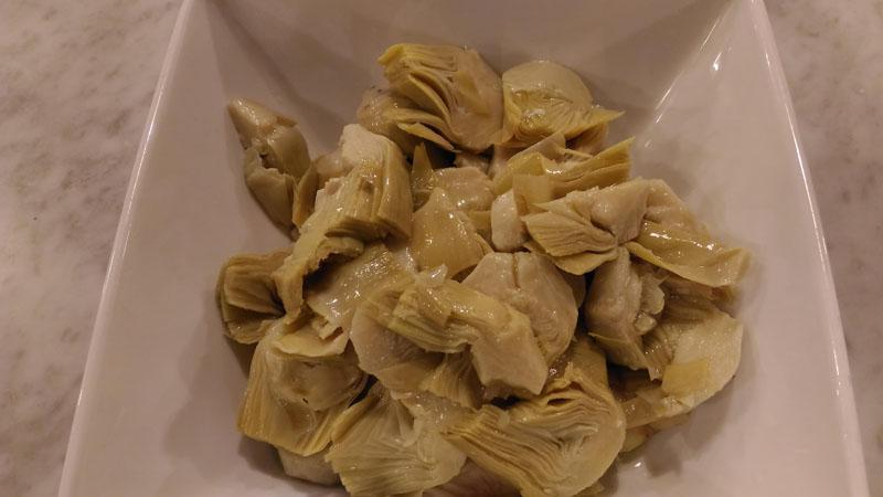 Carciofi Sotto Olio-antipasti-buffet-carciofini