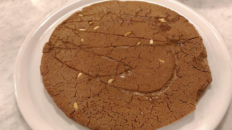 Castagnaccio- torta di farina di castagne-buffet-antipasti-castagna